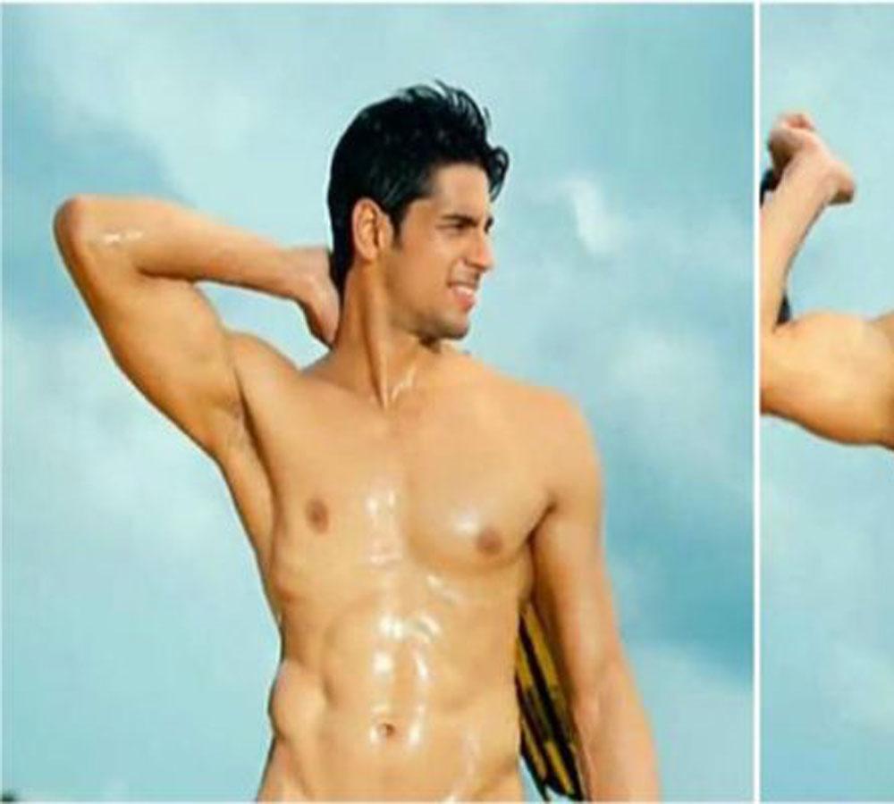Nude Photoshoot Of Siddharth Malhotra - सिद्धार्थ
