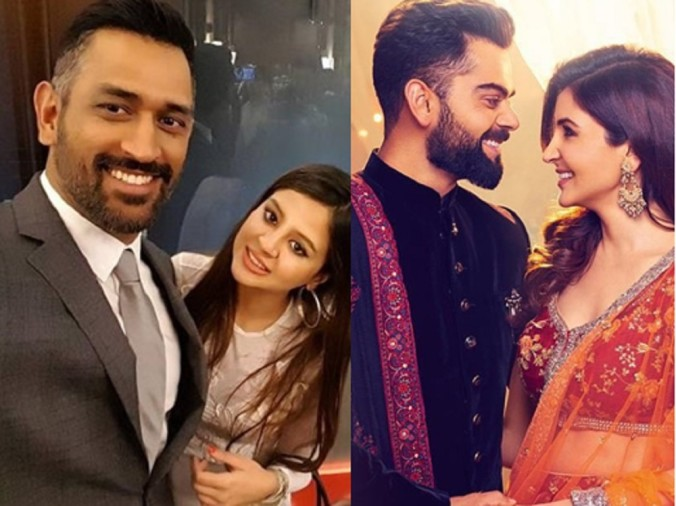 These Pictures Proove Anushka Sharma And Sakshi Dhoni Are School ...