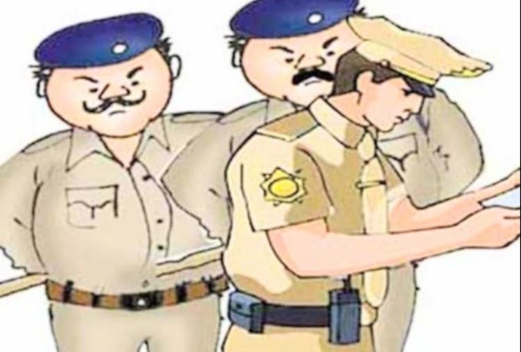 कर्फ्यू के दौरान पुलिस कर्मी से मारपीट, आरोपी की बाइक जब्त