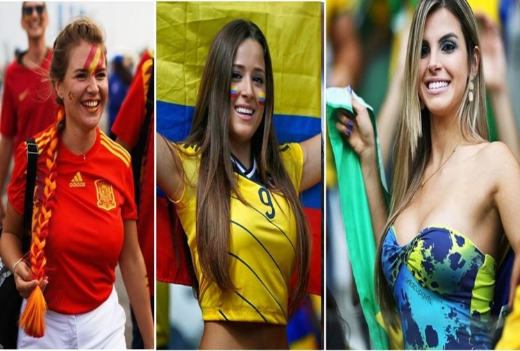 Most Beautiful Female Fans at FIFA World Cup 2018