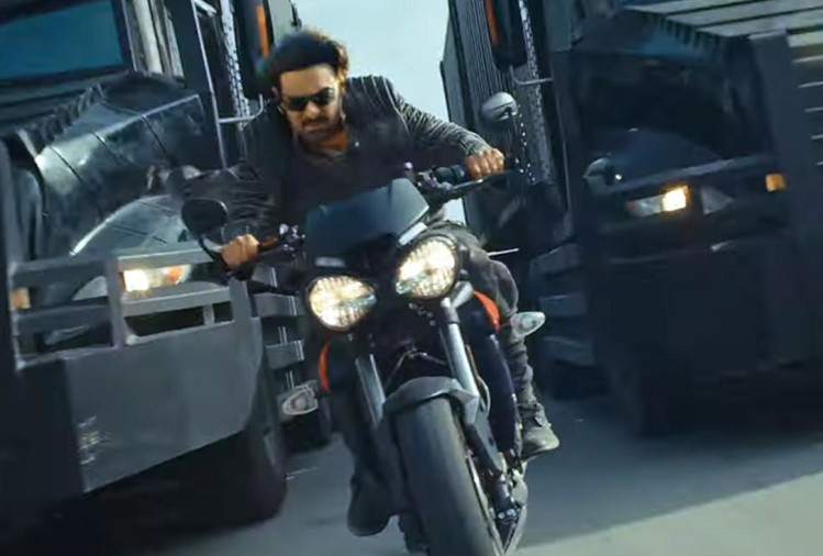 Saaho Movie Prabhas bike