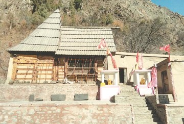 Story mrikula devi temple lahaul Spiti where mahishasura blood in kept