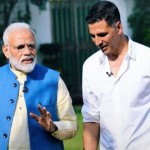 akshay kumar with pm modi