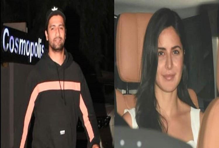 Rumoured Couples Vicky Kaushal Katrina Kaif Spotted Late ...