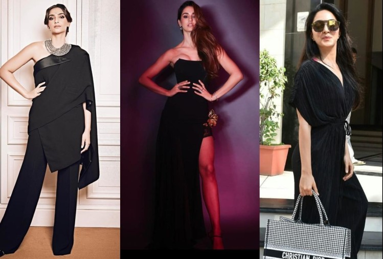 deepika padukone priyanka chopra in davos to kiara advani in formal look stylish in all black outfit