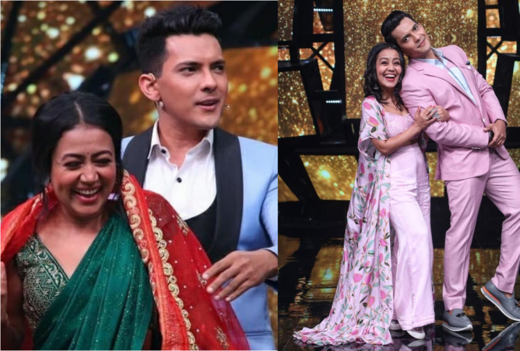 Neha Kakkar and Aditya Narayan