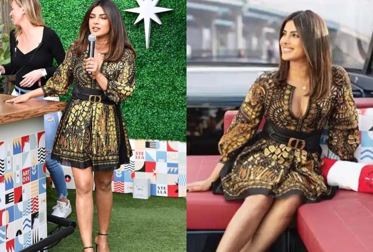 priyanka chopra wore more than 4 lakh rupees dress in miami festival