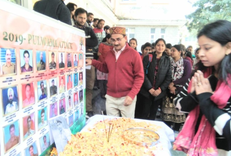 Salutes the martyrs of Pulwama attack in Himachal, tiranga yatra in shimla