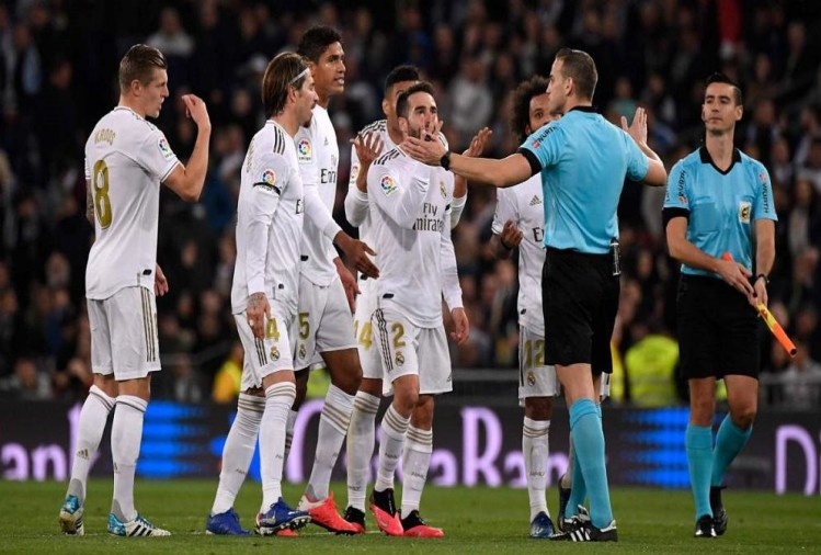 La Liga Real Madrid Vs Celta Vigo Match Ends With 2 2 Draw La