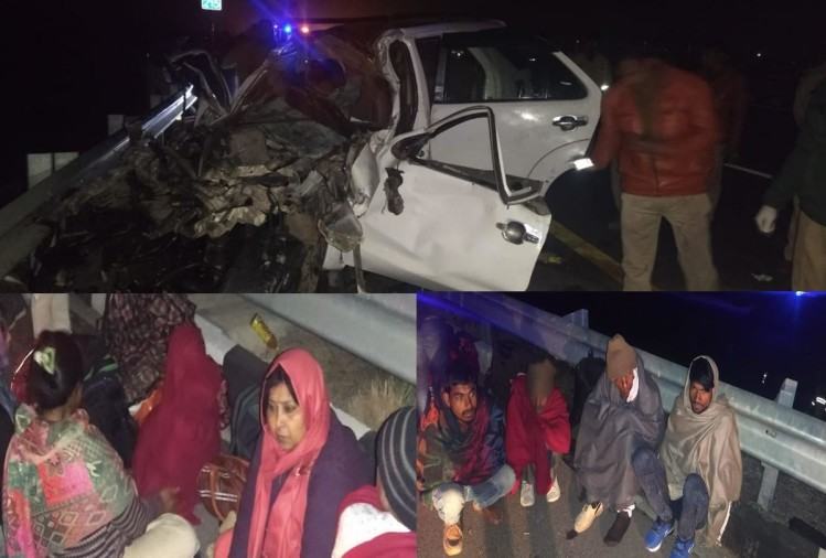 kanpur road accident