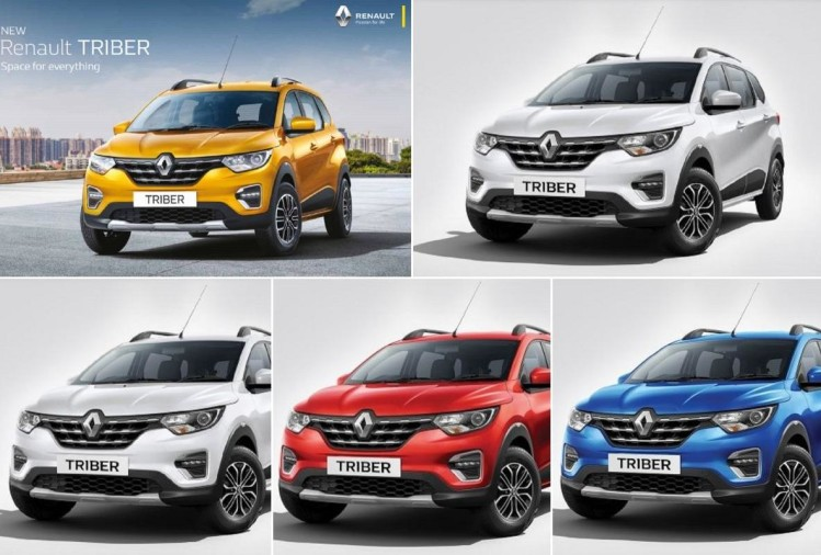 Renault Triber Colour Variants