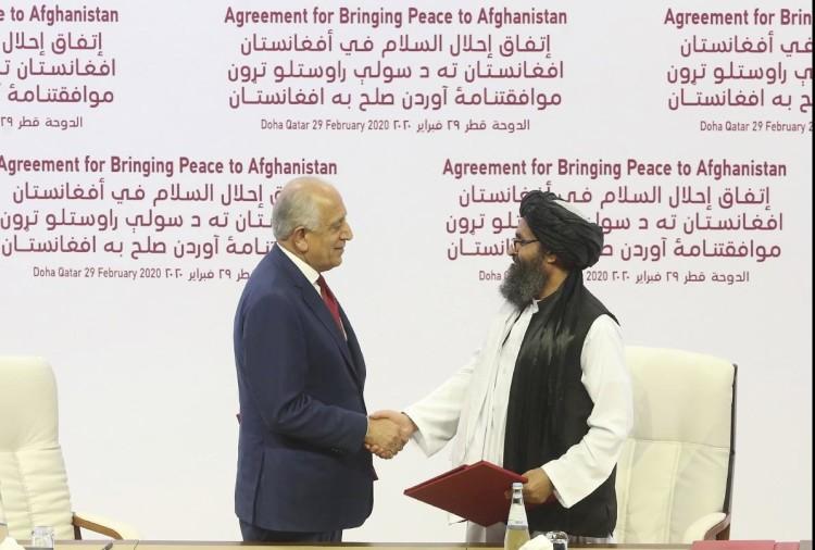 दोहा में अमेरिका-तालिबान समझौता
