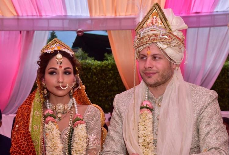 जर्मन के युवक ने हल्द्वानी की बेटी से की शादी