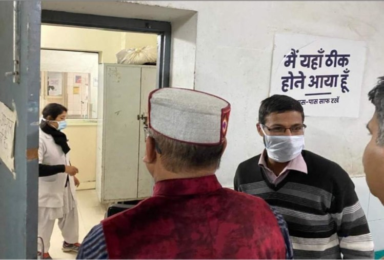 उत्तराखंड के काशीपुर में एक महिला को तेज बुखार के कारण आईसोलेशन वार्ड में भर्ती किया गया है। महिला 31 मार्च को मेरठ के लतीफपुर हस्तिनापुर से काशीपुर अपने ससुराल लौटी थी।
