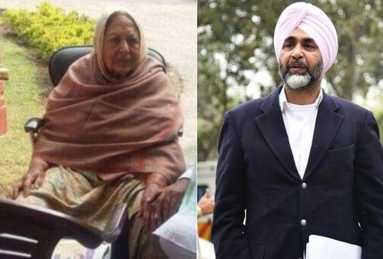 Image result for manpreet badal with mother