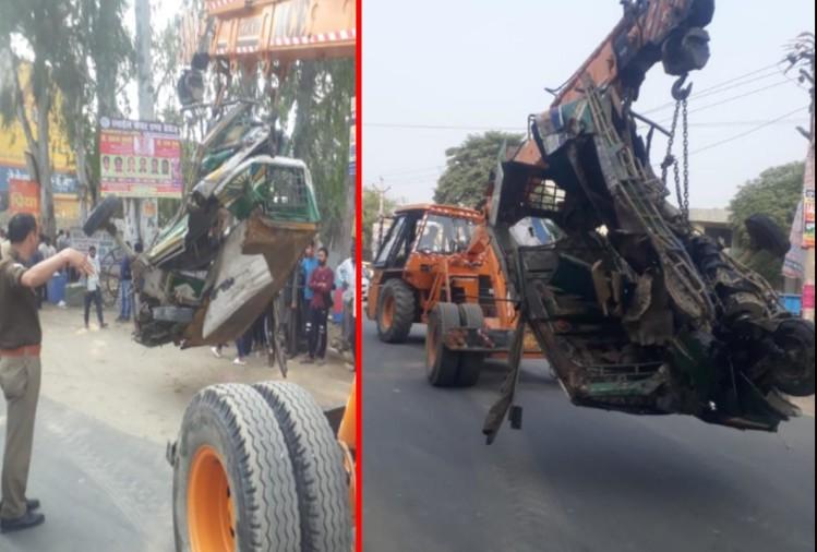 Big Breaking News:दर्दनाक हादसा,अनियंत्रित होकर सैन्य वाहन के काफिले में घुसा टैंपो, चालक की मौत