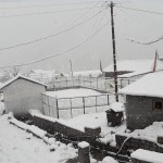 himachal pradesh fresh snowfall in kullu and manali