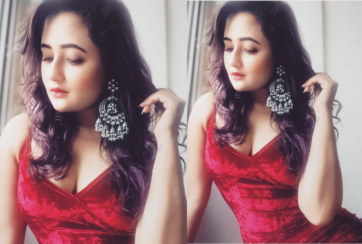 Bigg Boss Contestant Rashmi Desai Share Her Photos In Red Hot ...