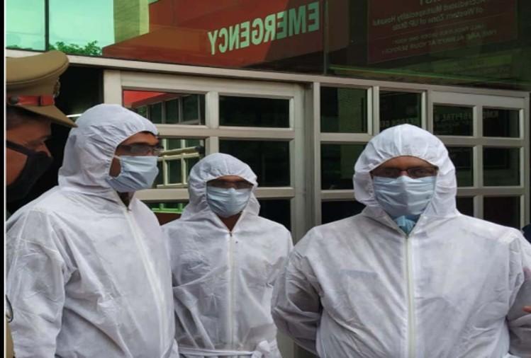 उत्तराखंडमें गुरुवार कोकोरोना वायरस संक्रमण के तीन और मामले सामनेआनेकेप्रदेश में अबकुल 10 पॉजिटिव केस हो चुके हैं।