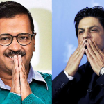 Arvind Kejriwal And Shahrukh Khan