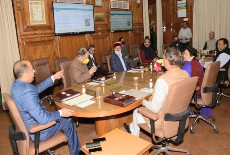 himachal cabinet meeting decisions regarding coronavirus and other issues held in shimla