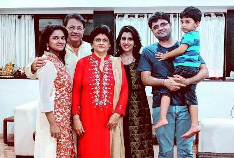 अपने परिवार के साथ अरुण गोविल