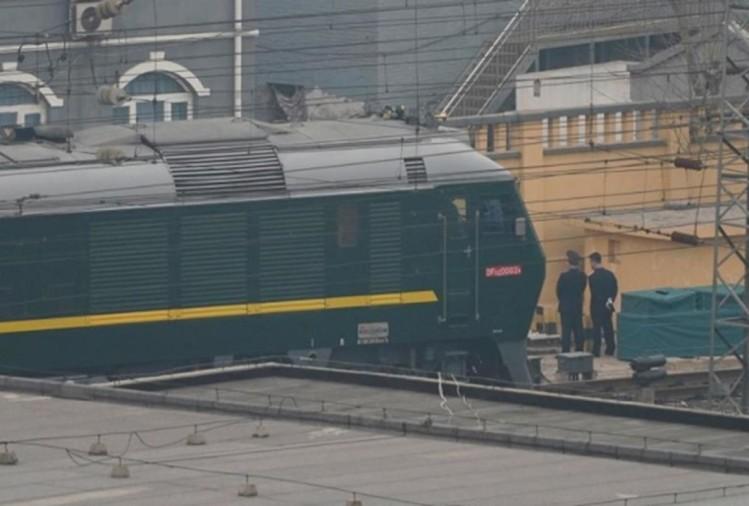 किम जोंग उन की ट्रेन